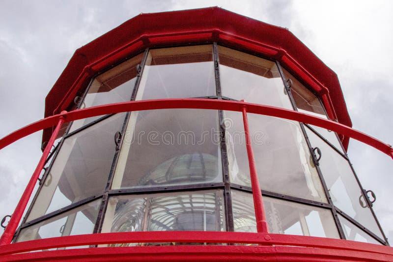 Объектив маяка стоковые изображения rf