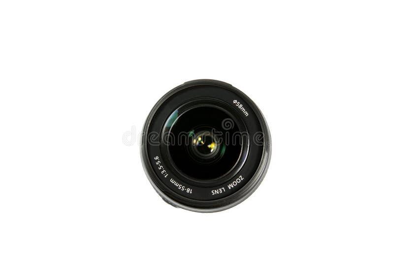 Объектив с переменным фокусным расстоянием камеры стоковое изображение rf