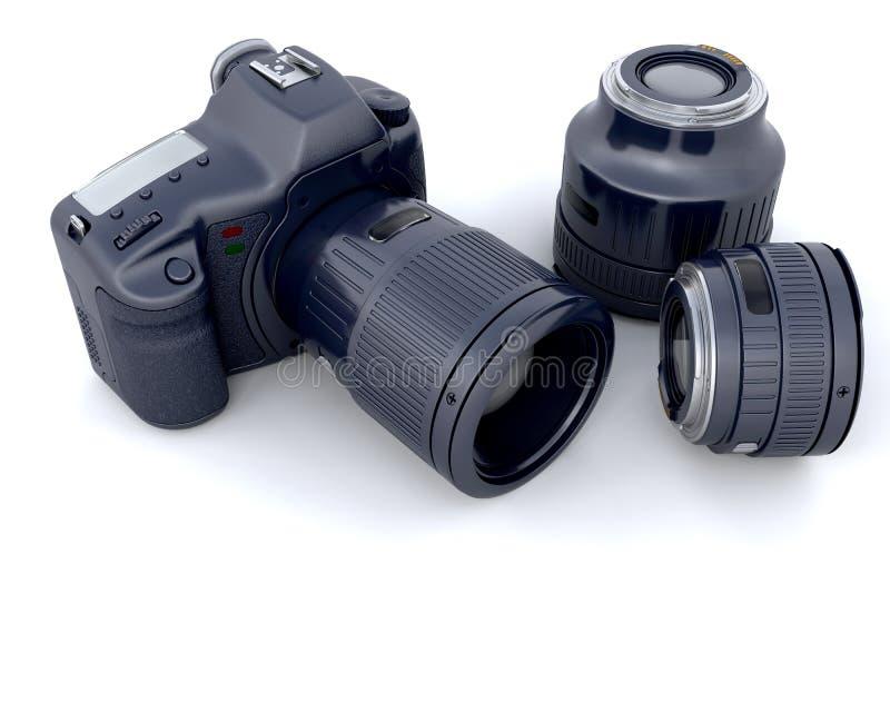 объектив фотоаппарата 3d бесплатная иллюстрация