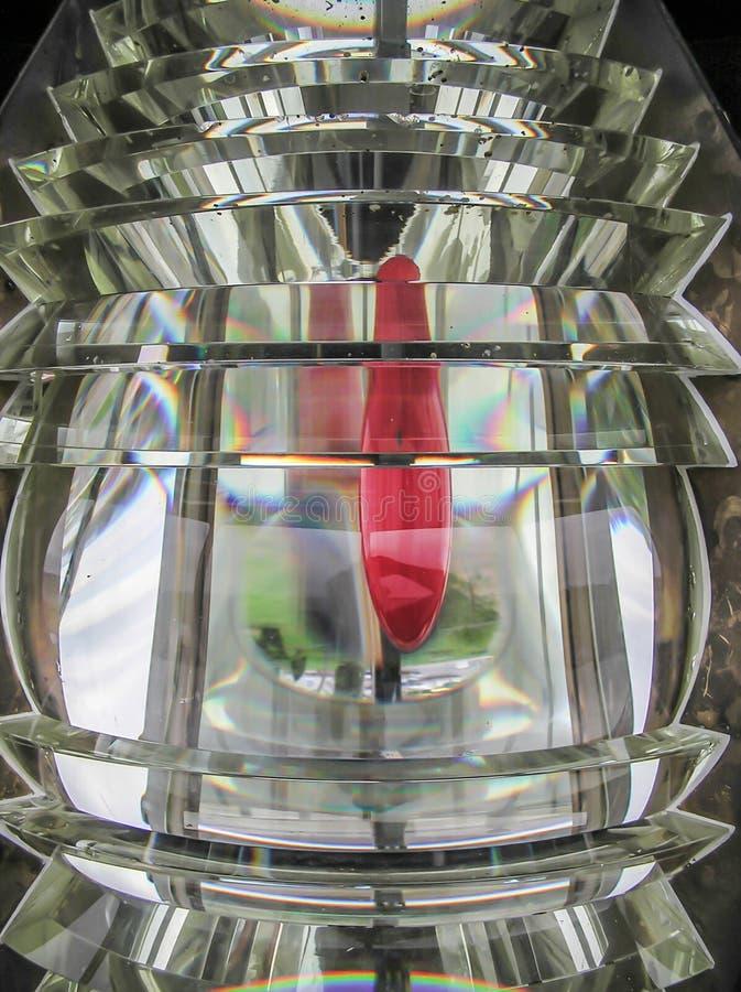 Download Объектив Fresnel маяка пункта песка Стоковое Изображение - изображение насчитывающей стекло, маяка: 33725811