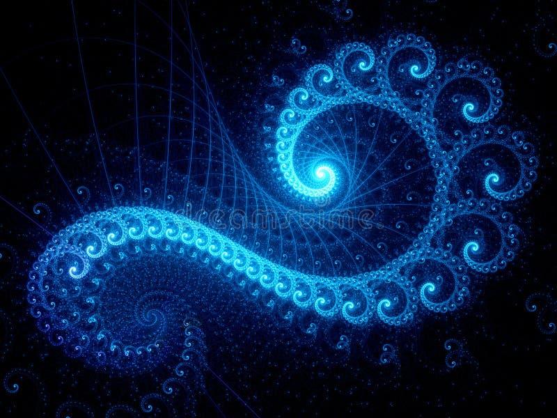Объект золотого коэффициента голубой стоковое фото