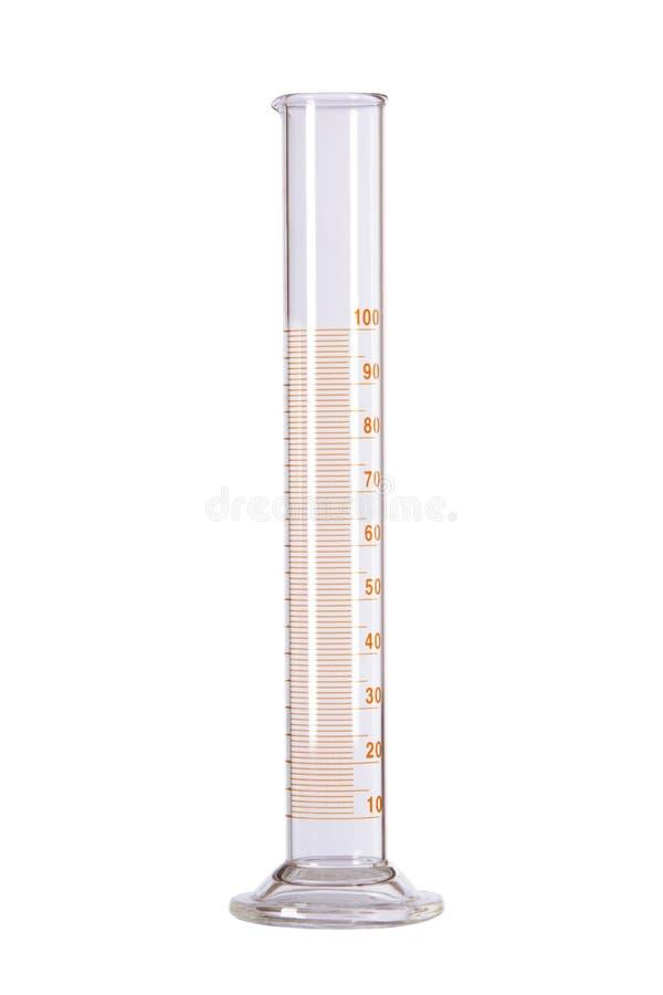 Объемная склянка с емкостью 1 00 миллилитров стоковое изображение rf