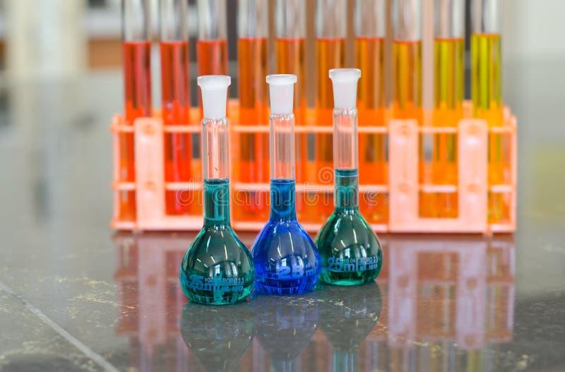 3 объемных склянки стоковые фотографии rf