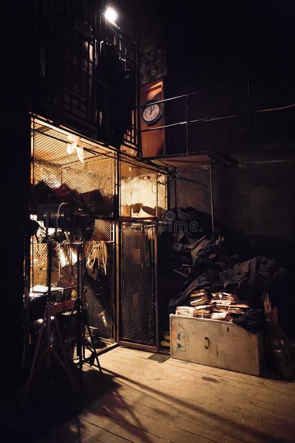 Объем запоминающего устройства театра стоковое фото rf