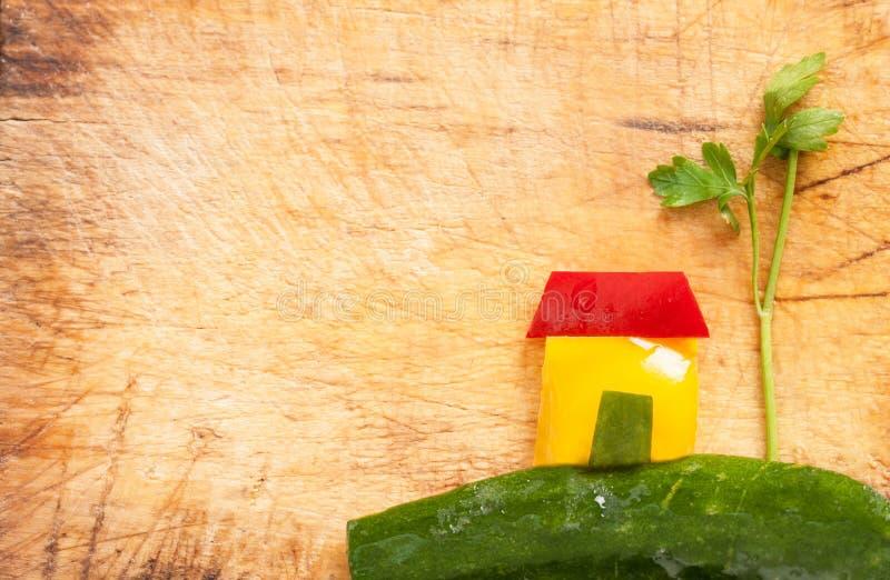 Объединенная красота овощей стоковое изображение rf