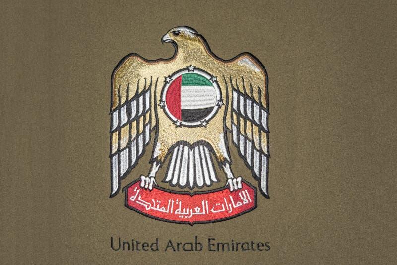 Объединенное пальто Emirated араба armd стоковое фото
