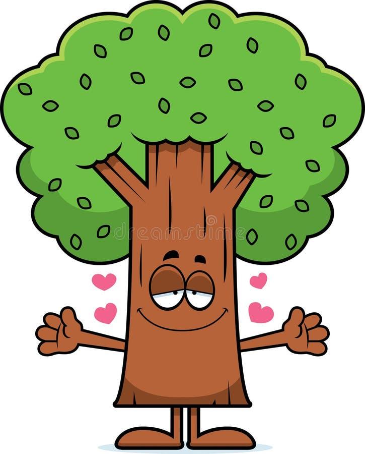 Рисунок дерево смешное