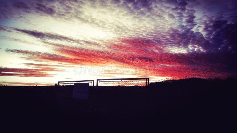 Облака имеют душу стоковые фотографии rf