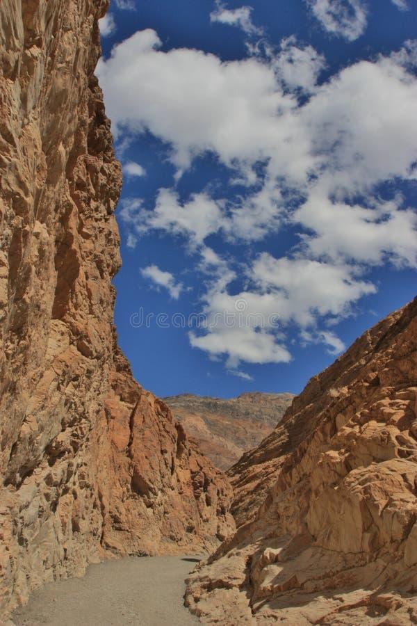 Облака каньона собора стоковые фотографии rf