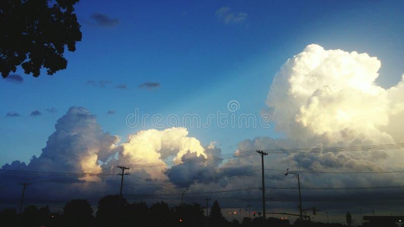 облака красоты стоковая фотография rf
