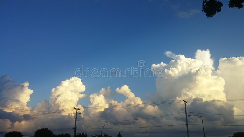 облака красоты стоковые фотографии rf
