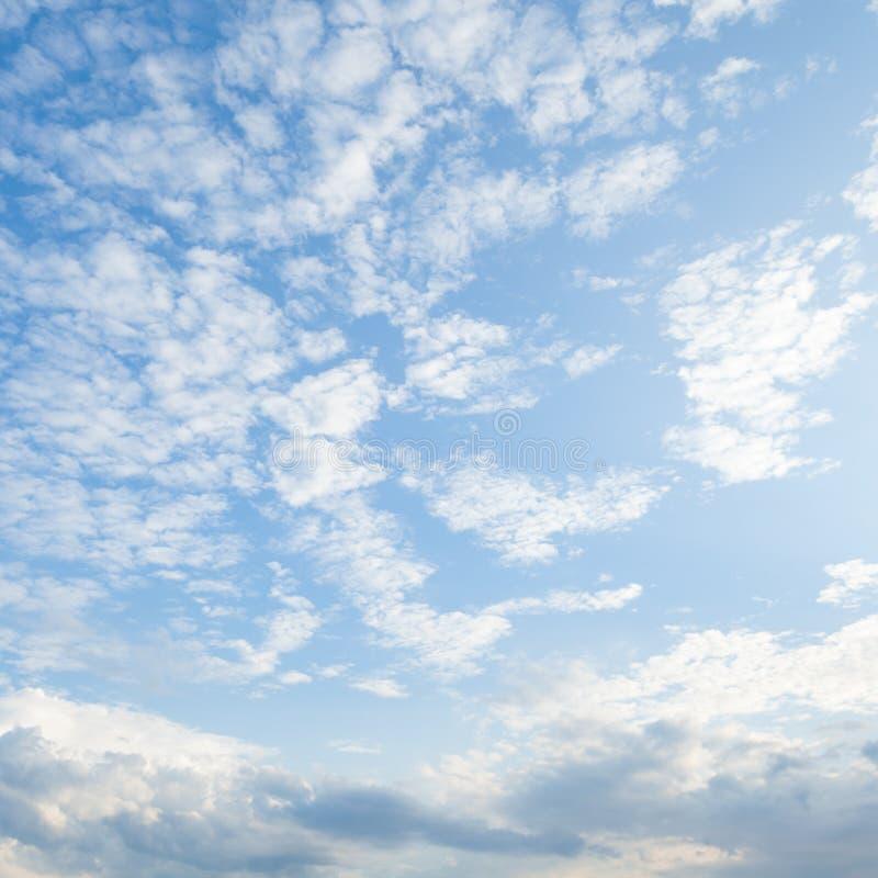 Облака покрыли небо стоковое фото rf