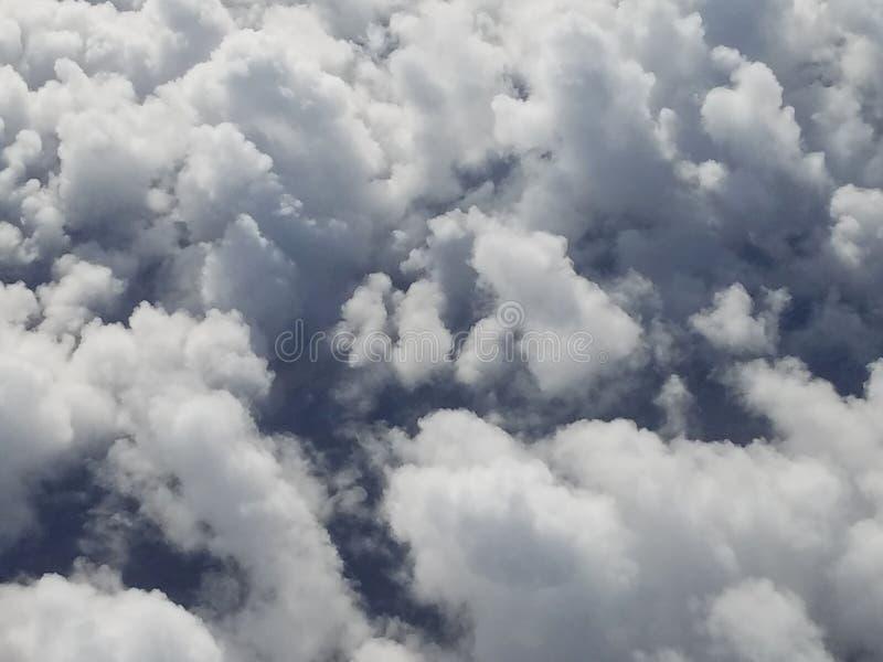 Облака символизируя эмоции, тайну, мечты и эмоции стоковая фотография