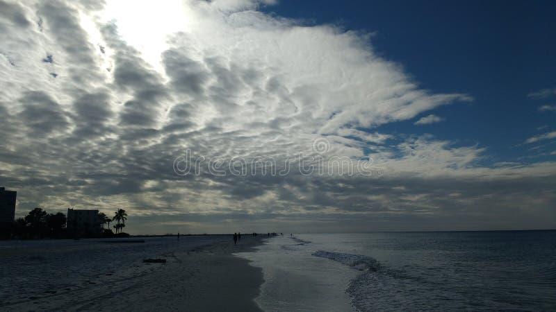 Облака скумбрии стоковые изображения