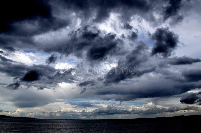 Облака шторма стоковое изображение rf