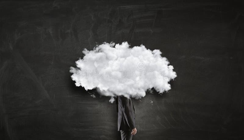 Download Облако возглавило человека Мультимедиа Стоковое Фото - изображение насчитывающей идея, сновидение: 81807740