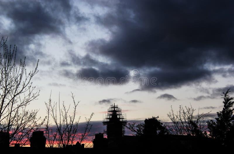 Облако трубки лавы неба стоковые фото