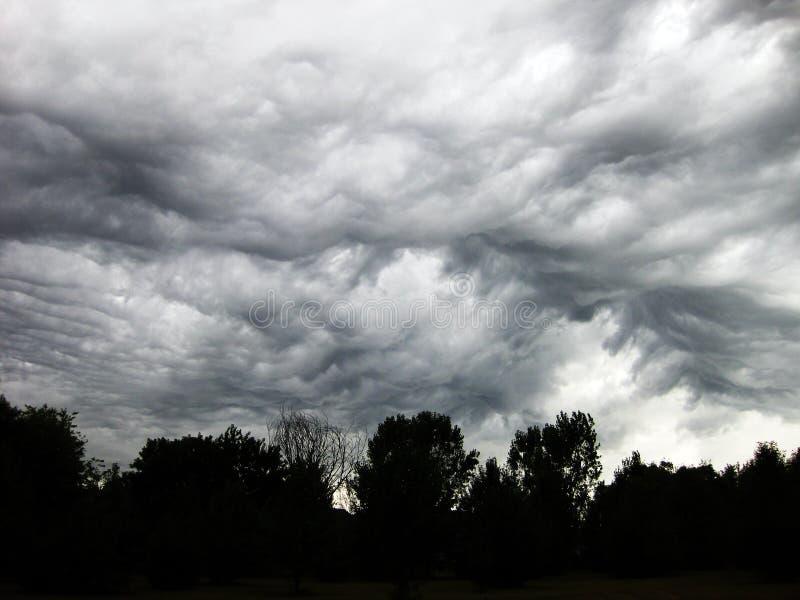 Облако шторма пузыря стоковое фото rf