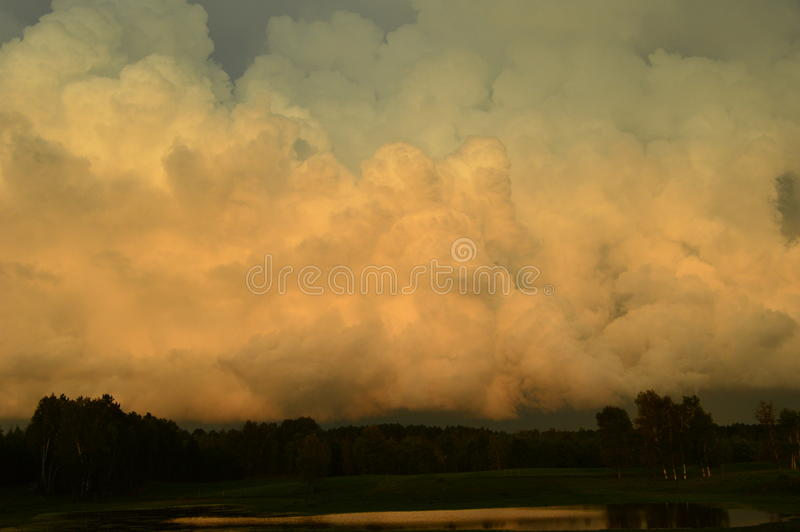Облако шторма стоковое фото rf