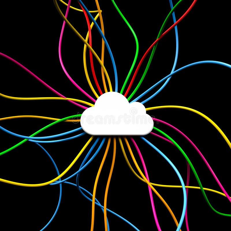 Облако иллюстрация вектора