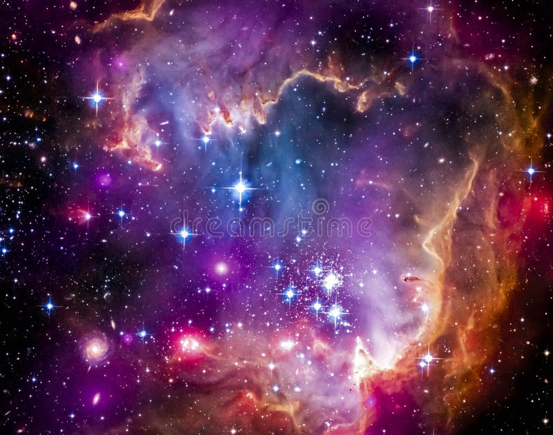 Облако Magellanic стоковые изображения