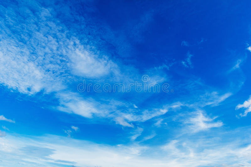 Облако whit голубого неба стоковое фото rf