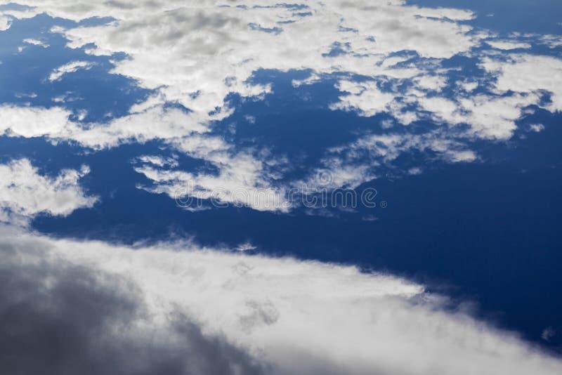 Облачное небо стоковые изображения