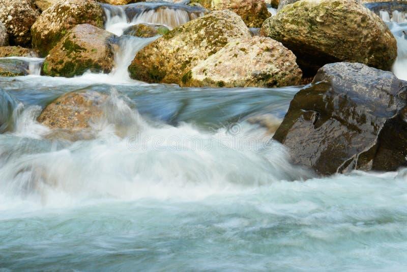 облицовывает водопад стоковая фотография rf