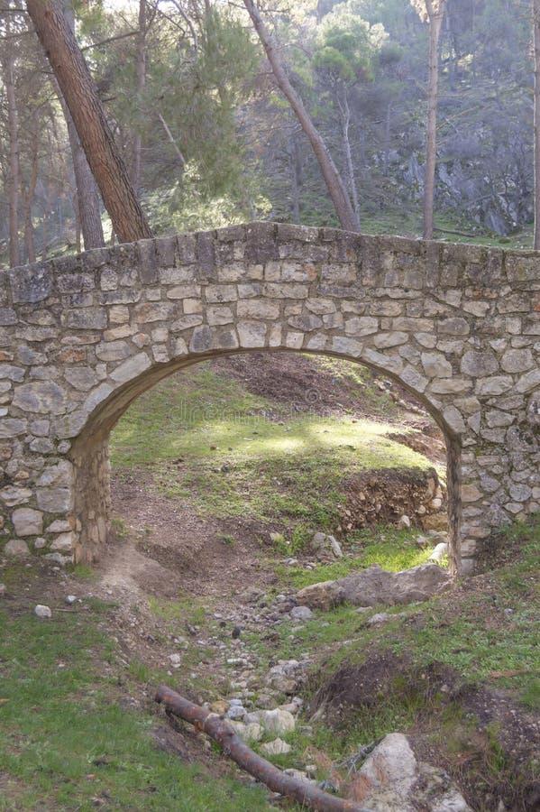 Облицуйте мост стоковое изображение