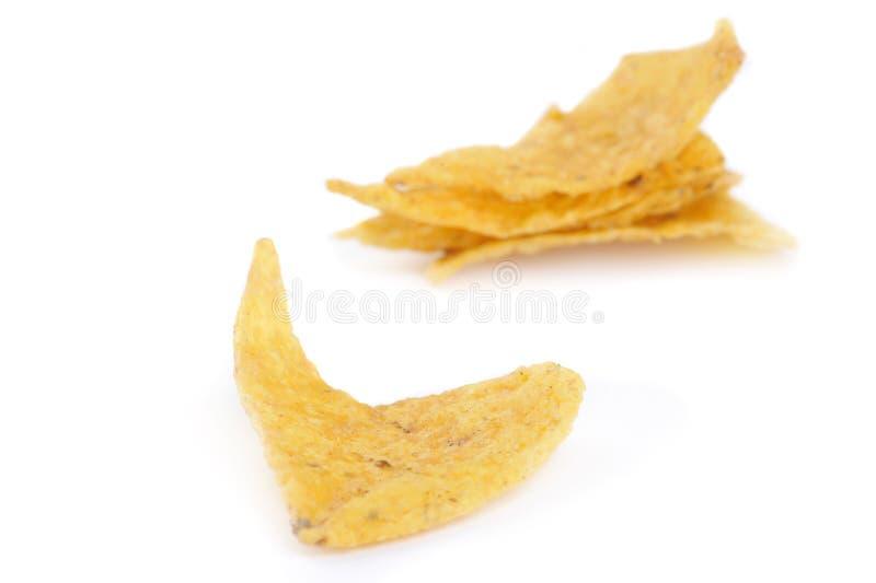Обломоки Tortilla стоковое фото rf