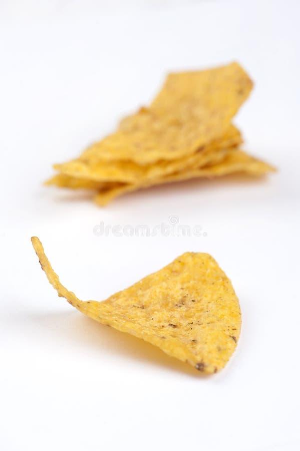 Обломоки Tortilla стоковое фото