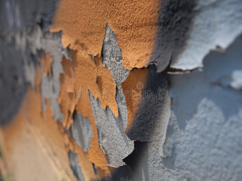 Облупленная стена 1 стоковая фотография rf