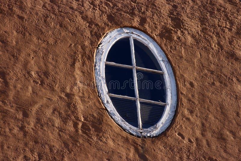 овальное окно стоковое изображение
