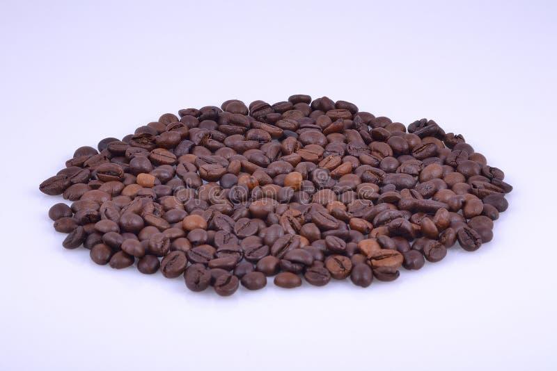 Овальный делать из кофейных зерен стоковое фото rf