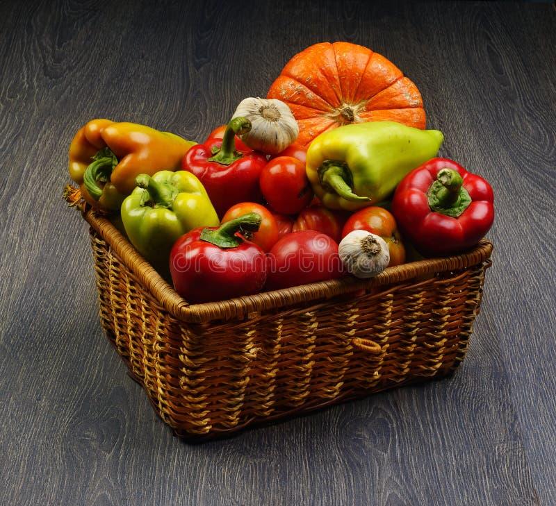 Овощи в a стоковое фото