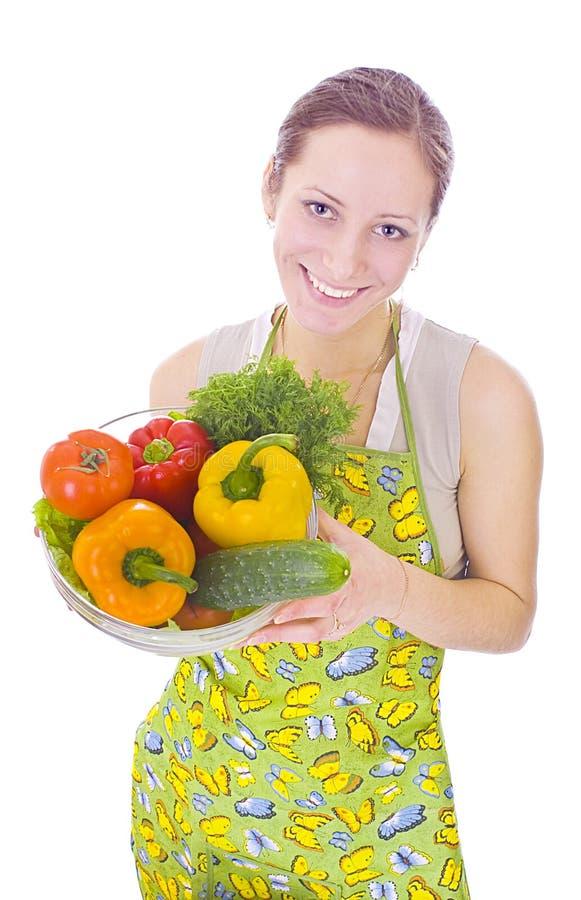 овощи домохозяйки стоковые фотографии rf