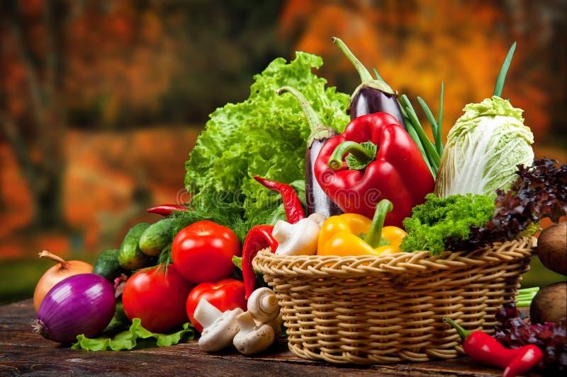 Овощи и плодоовощи стоковые изображения rf