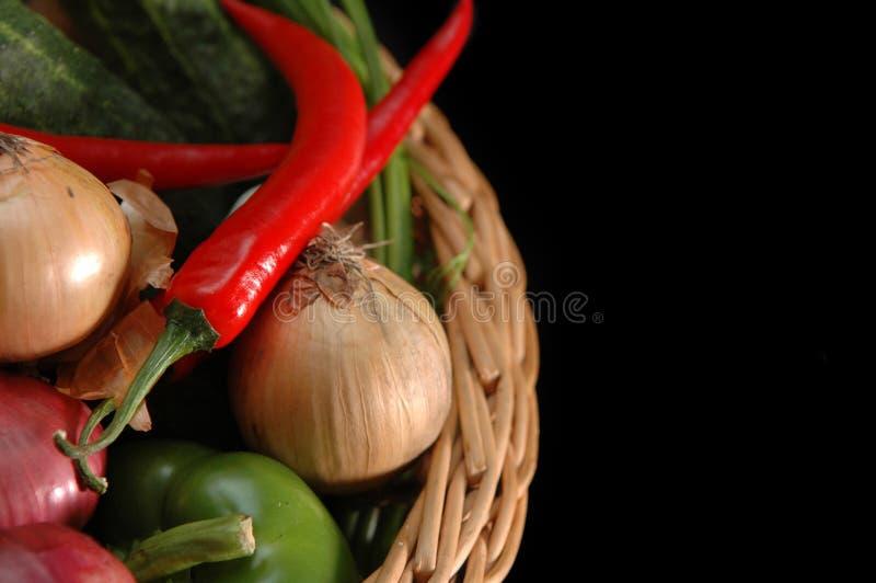 овощи корзины стоковые фото