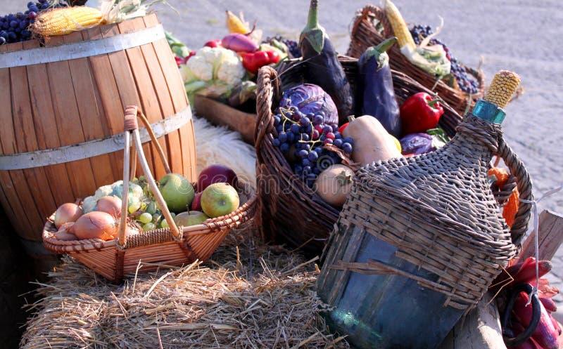 Овощи осени стоковые фотографии rf