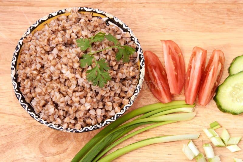 _ овощи продуктов свежего рынка земледелия Правильное питание абстрактный коричневый цвет предпосылки выравнивает изображение стоковое изображение rf