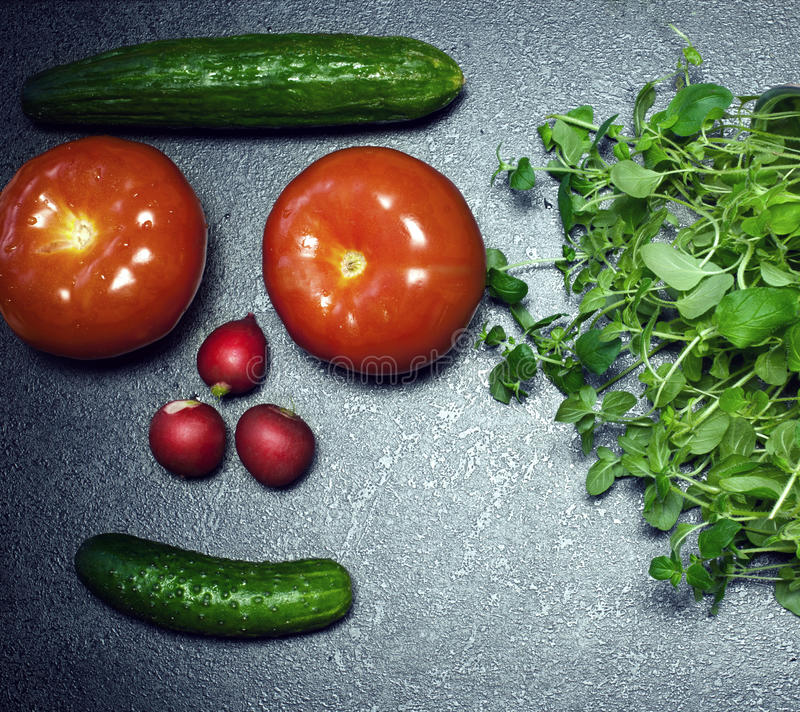 овощи продуктов свежего рынка земледелия стоковые изображения