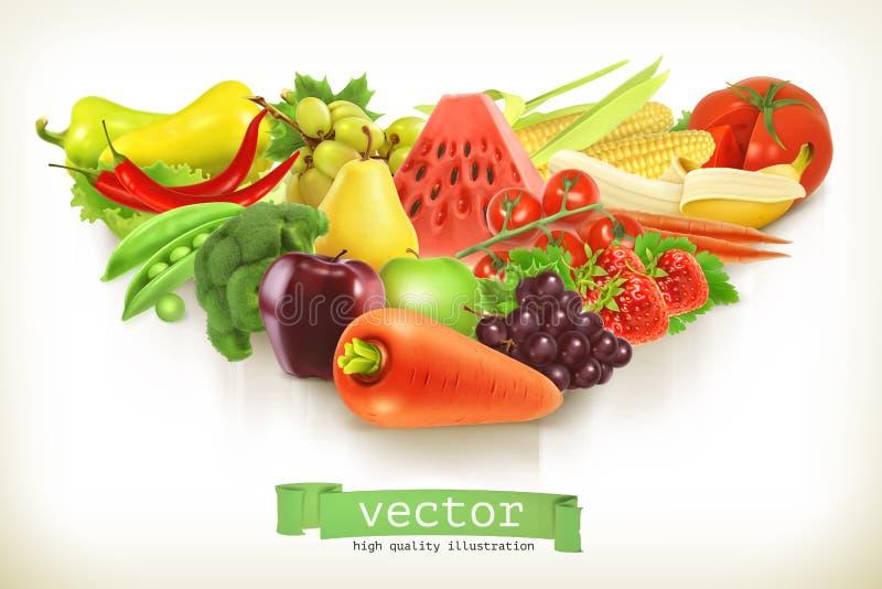 овощи плодоовощей бесплатная иллюстрация