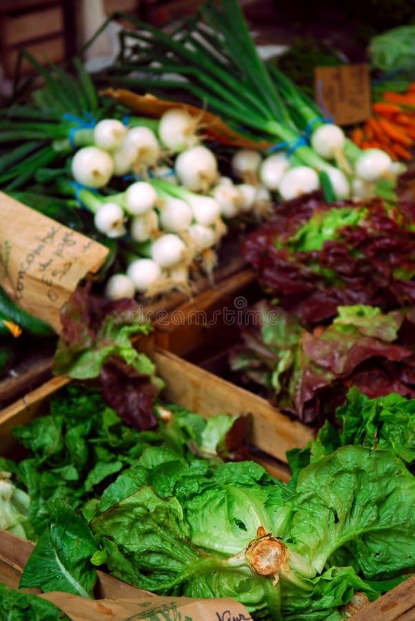 овощи рынка стоковое изображение rf