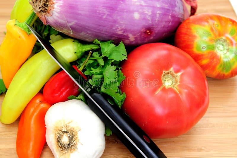 овощи сальса стоковое фото