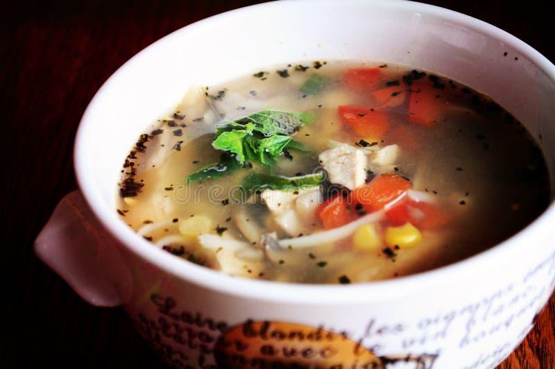 овощи супа стоковая фотография