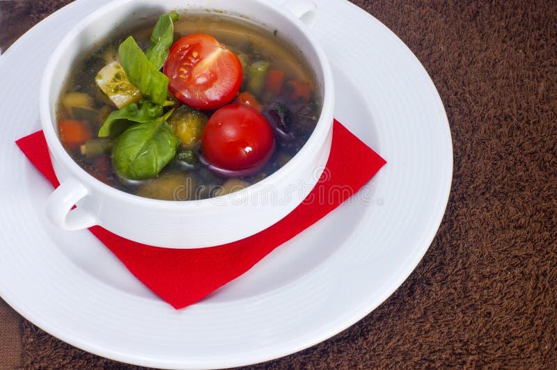 Овощи супа стоковые фотографии rf