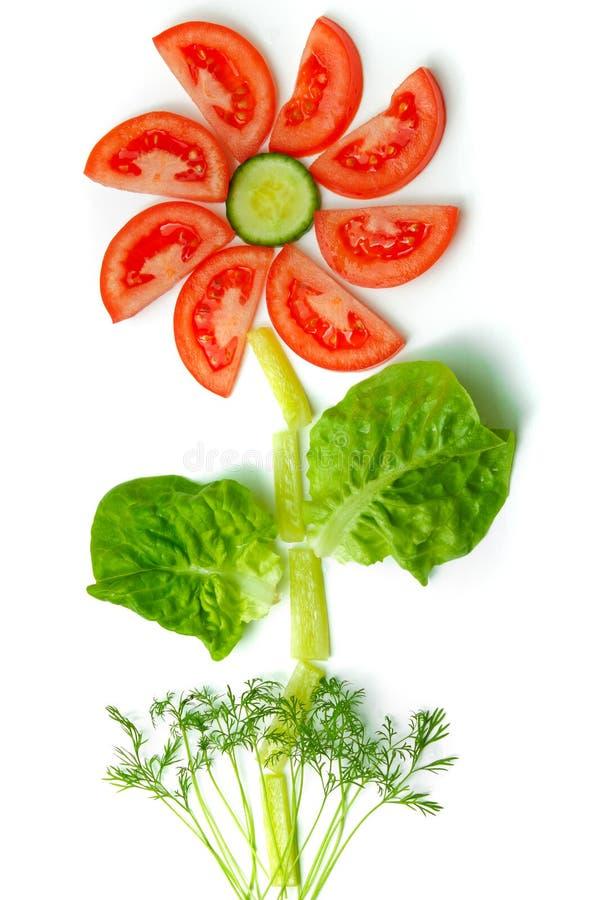 овощи цветка принципиальной схемы свежие здоровые сделанные стоковые фотографии rf