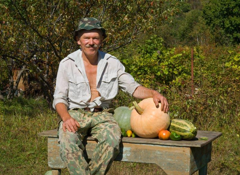 овощи 1 человека стоковое изображение