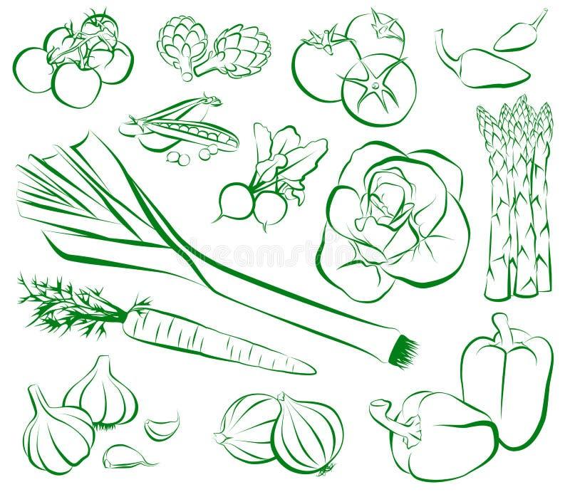 Овощи бесплатная иллюстрация