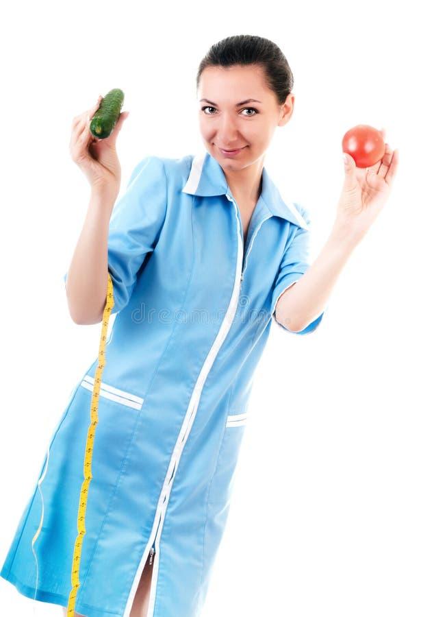 овощи nutritionist стоковое фото rf